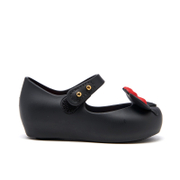 Mini Melissa Toddlers' Minnie Mouse Ultragirl Ballet Flats - Black