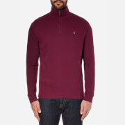 Polo Ralph Lauren Men's Quarter Zip Sweatshirt - Monarch Red