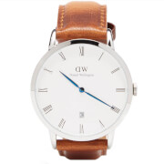 Daniel Wellington Women's Dapper Durham Silver Watch - Tan