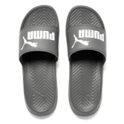 Puma Men's Popcat Slide Sandals - Grey/White