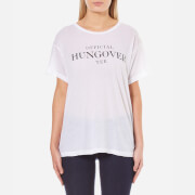 Wildfox Women's Officially Hungover Manchester T-Shirt - Clean White