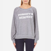 Wildfox Women's Pobody's Nerfect Sommers Sweatshirt - Heather Burnout