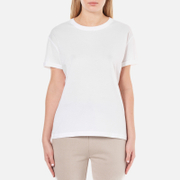 T by Alexander Wang Women's Superfine Jersey Short Sleeve Crew Neck T-Shirt - White