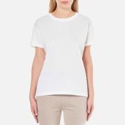 T by Alexander Wang Women's Superfine Jersey Short Sleeve Crew Neck T-Shirt - White