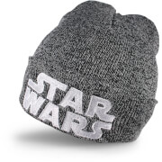 Star Wars Men's Logo Beanie - Grey