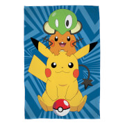 Pokémon Characters Fleece Blanket