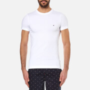 Tommy Hilfiger Men's New Stretch Crew Neck T-Shirt - Classic White