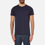 Tommy Hilfiger Men's New Stretch Crew Neck T-Shirt - Navy Blazer