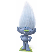 Trolls Guy Diamond Glittery Grey Cutout