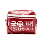 Crosshatch Oakbrook Shoulder Messenger Bag - Chilli Red