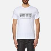 BOSS Green Men's Tee 1 Logo T-Shirt - White
