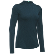 Under Armour Women's ColdGear Armour Mock Long Sleeve Shirt - Nova Teal