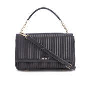 DKNY Women's Gansevoort Flap Shoulder Bag - Black