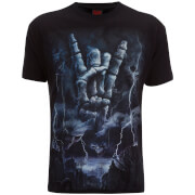 T-Shirt Homme Spiral Rock Eternal -Noir