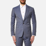 Vivienne Westwood MAN Men's Wool James Suit - Avio