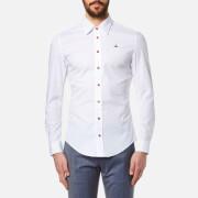 Vivienne Westwood MAN Men's Stretch Poplin Long Sleeve Shirt - White