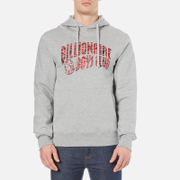 Billionaire Boys Club Men's Zebra Camo Arch Logo Pop Over Hoody - Heather