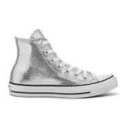 Converse Women's Chuck Taylor All Star Hi-Top Trainers - Silver/Black/White