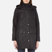 Barbour Heritage Women's Wax Border Jacket - Navy