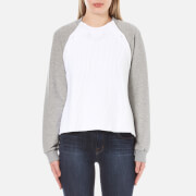 Sportmax Code Women's Maiella Button Shoulder Jumper - Light Grey