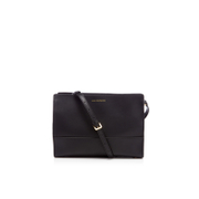 Lulu Guinness Women's Daphne Smooth Leather Cross Body Bag - Black