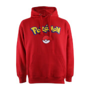 Pokemon Men's Logo Hoody - Red