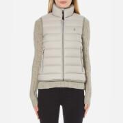 Polo Ralph Lauren Women's Lightweight Nylon Puffa Vest - Chrome Grey