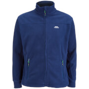 Trespass Men's Bernal Full Zip Fleece Jumper - Navy
