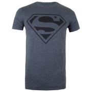T-Shirt DC Comics Superman Mono - Foncé et Chiné