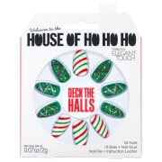 Elegant Touch House of Holland Christmas Nails - Deck The Halls