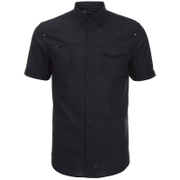 Dissident Men's Zenna Short Sleeve Shirt - Black
