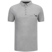 Dissident Men's Dunraven Polo Shirt - Light Grey Marl