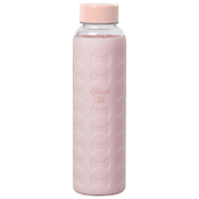 Ted Baker Nude Glass Water Bottle with Silicone Sleeve