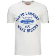 Tokyo Laundry Men's Wave Riders T-Shirt - Ivory
