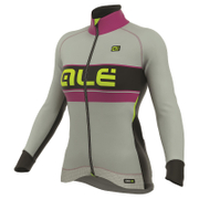 Alé Women's PRR Bering Winter Jacket - Grey/Purple