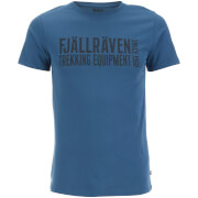 Fjallraven Men's Equipment Block T-Shirt - Uncle Blue