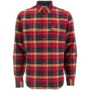 Fjallraven Men's Singi Heavy Flannel Shirt - Deep Red