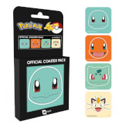 Pokémon Faces Coaster Pack