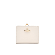 Vivienne Westwood Women's Opio Saffiano Wallet with Coin Pocket - Beige