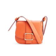 MICHAEL MICHAEL KORS Women's Maxine Mid Saddle Bag - Orange
