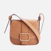 MICHAEL MICHAEL KORS Women's Maxine Mid Saddle Bag - Luggage