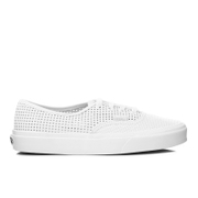Vans Women's Authentic Dx Perforated Trainers - Blanc De Black