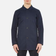 Selected Homme Men's Mash Cotton Coat - Total Eclipse