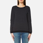 Maison Scotch Women's Crew Neck Sweatshirt - Black