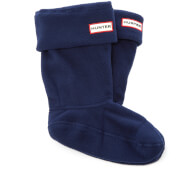 Hunter Kid's Original Boot Socks - Navy