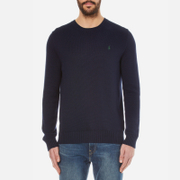 Polo Ralph Lauren Men's Crew Neck Cotton Knitted Jumper - Hunter Navy