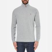 Polo Ralph Lauren Men's Quarter Zip Sweatshirt - Andover Heather Grey