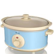 Swan SF17020BLN 3.5L Retro Slow Cooker - Blue