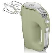 Swan SP20150GN Retro 5 Speed Hand Mixer - Green