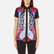 Versace Jeans Women's Printed Shirt - Wisteria